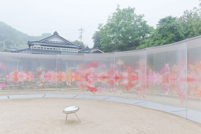 25561226 193433 A  ART HOUSE จัดสถานที่แสดงศิลปะหมู่บ้านแบบดั่งเดิมของญี่ปุ่น