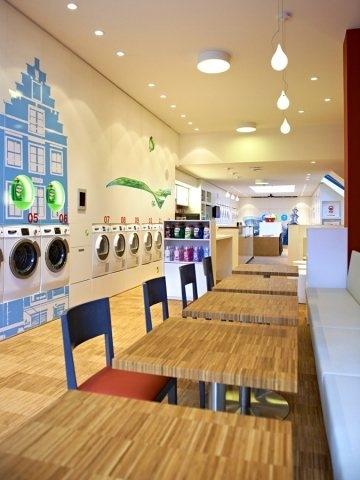 33423 slide Wash & Coffee ร้านกาแฟเก๋ใน  Amsterdam