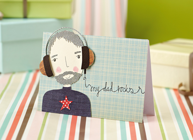 FREE Father's Day printables : DIY การ์ดวันพ่อ โหลดฟรีตัวการ์ตูนคุณพ่อ 16 - DIY