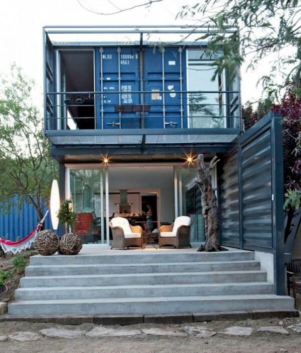 บ้านจากตู้คอนเทนเนอร์ทั้งแบบ DIY และแบบมืออาชีพ 13 - 100 Share+
