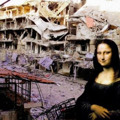 ภาพศิลปะระดับโลก กับซากปรักหักพัง ...ภาพสะเทือนใจต่อสงครามกลางเมืองในซีเรีย 20 - Graffiti