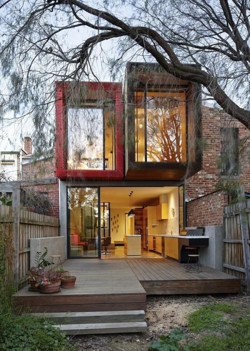 ปรับปรุงทาวน์เฮาส์เก่า เป็นบ้านใหม่ที่ตอบโจทย์ความต้องการพื้นที่เพิ่มขึ้นของครอบครัว 13 - town house