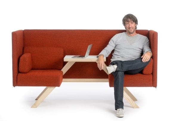 ม้านั่งที่มาพร้อมกับโต๊ะสำหรับ Sharing, Chilling หรือ Hiding 25 - DESIGN