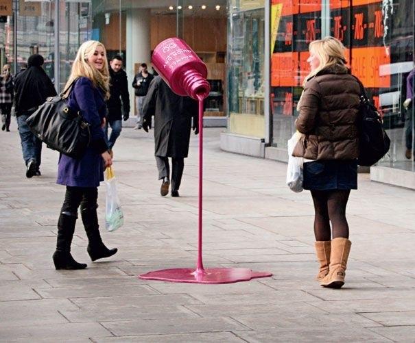 Street Marketing...ช่วยให้การเดินถนนมีสีสันมากขึ้น 13 - guerrilla marketing