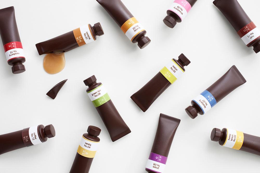 nendo chocolate paint oil set 1 CHOCOLATES หรือหลอดสีกันแน่ !?