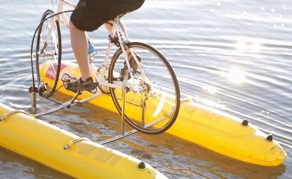 25570206 141624 Baycycle..ชุดประกอบให้จักรยานวิ่งได้ในน้ำ