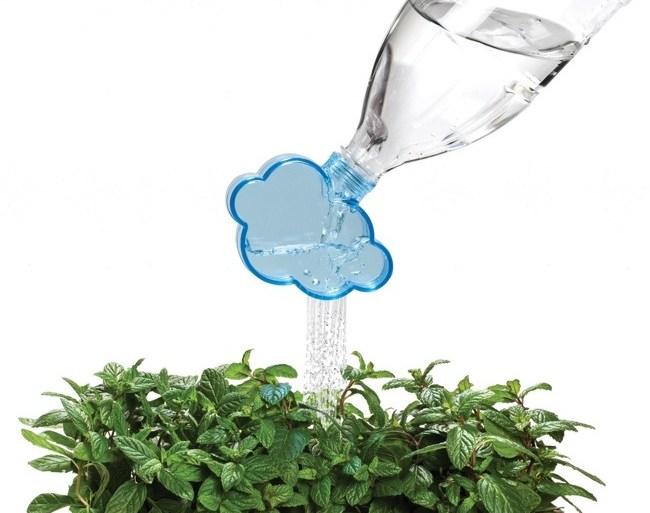 Rainmaker..ฝารูปก้อนเมฆ วิธีรียูสขวดพลาสติกแบบเท่ๆ 28 - GREENERY