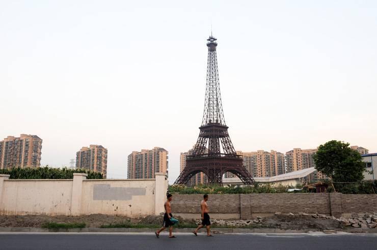 1381911891 954f1 0 Little Paris in Hangzhou,China ปารีส รกร้างในเมืองจีน