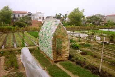 โรงอนุบาลผัก ทำจากไม้ไผ่ และขวดพลาสติก ความร่วมมือระหว่างคนในเมือง และเกษตกรในชนบท 19 - เวียดนาม