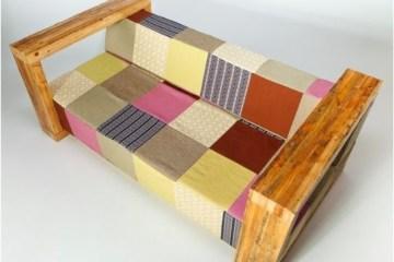 Moon Sofa - ชีวิตใหม่ของไม้เก่า และผ้าเก่า