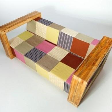 Moon Sofa - ชีวิตใหม่ของไม้เก่า และผ้าเก่า 17 - sofa