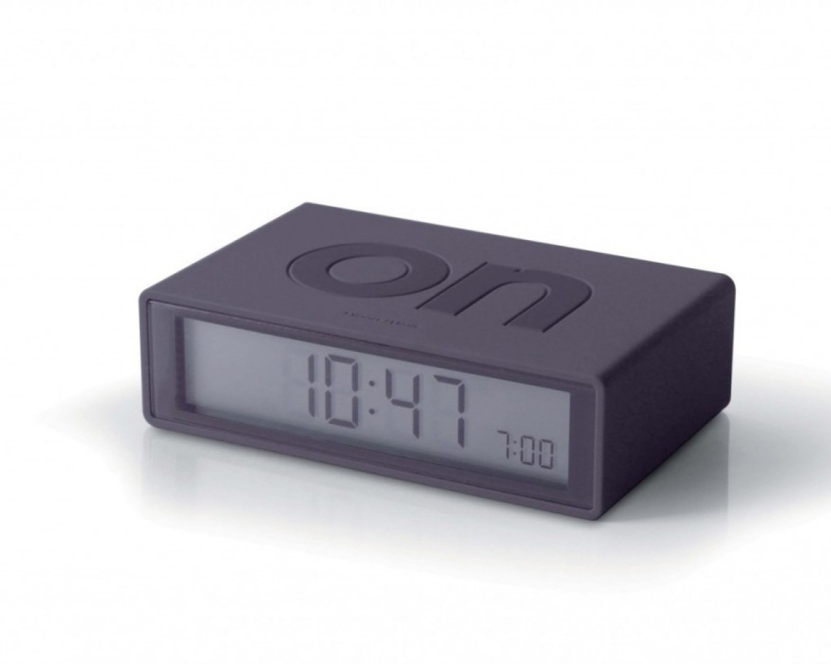 LR130G3 1 FLIP alarm clock turns off by turning it over