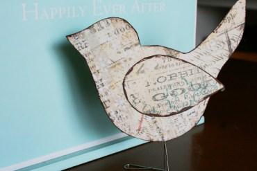 DIY นกตั้งโต๊ะ จากคลิปหนีบกระดาษ 17 - DIY
