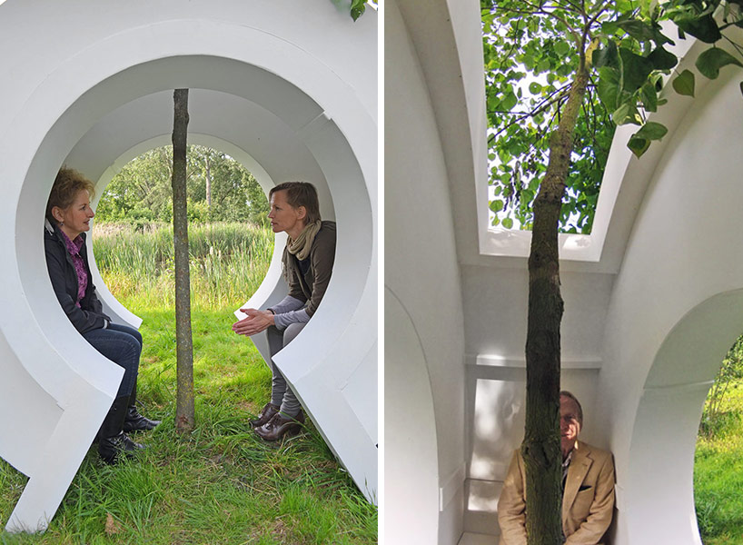 love tree by rob sweere designboom 05 Love tree ต้นไม้ที่รัก