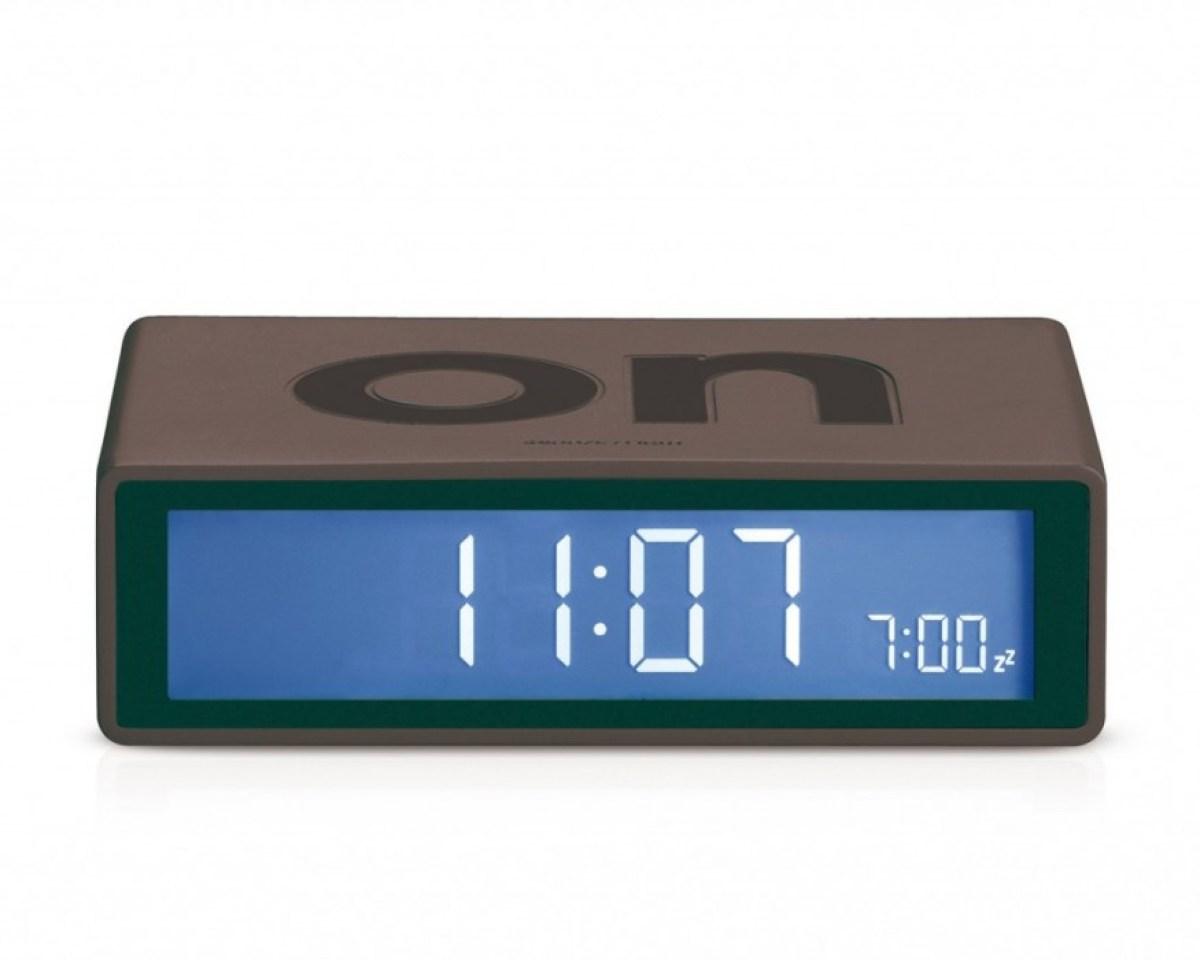 lr130g3 FLIP alarm clock turns off by turning it over