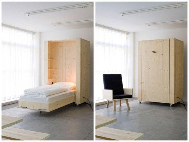 เตียงกล่องติดล้อ เปิดเมื่อต้องการใช้ ประหยัดพื้นที่ 13 - Highlight