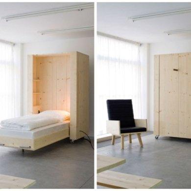 เตียงกล่องติดล้อ เปิดเมื่อต้องการใช้ ประหยัดพื้นที่ 25 - Highlight