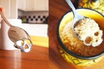 ช้อนตักน้ำตาลรูปหัวกะโหลก..เพื่อให้กินน้ำตาลน้อยลง สุขภาพดีขึ้น 10 - Kickstarter