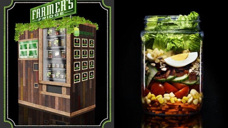Farmer's Fridge Vending Machine ตู้ขายอาหารเพื่อสุขภาพอัตโนมัติ 13 - Farmer's Fridge