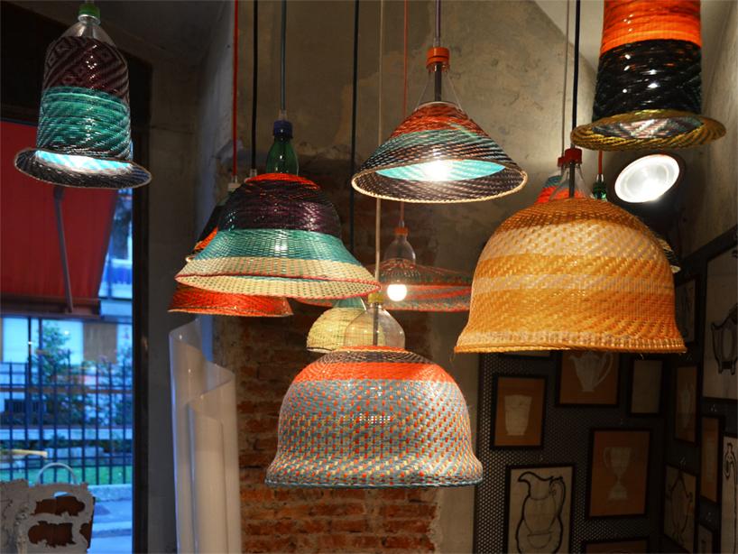PETlamps06 โคมไฟ PET Lamp ความงามจากพื้นถิ่น