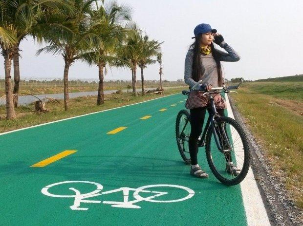 image8 650x487 สนามบินสุวรรณภูมิ เปิดถนนสีเขียว..ทางสำหรับจักรยานเท่านั้น รถห้ามวิ่ง