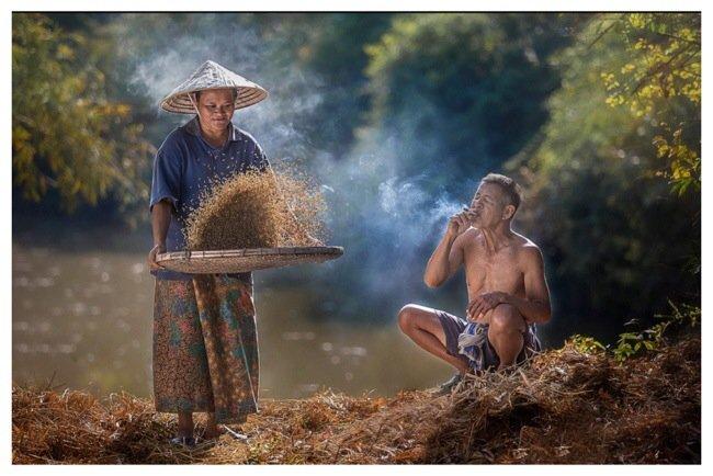 ภาพความสุขในวิถีชีวิตแบบไทยๆโดย Sangkhom Hungkhunthod 20 - ภาพถ่าย