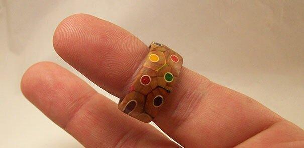 20140516 172346 DIY เปลี่ยนดินสอสี เป็นแหวนสายรุ้ง..สวยงาม