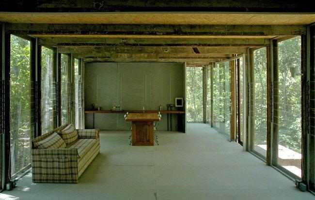 20140527 145731 53851710 บ้านในป่าร้อนชื้น โปร่งโล่ง กันแมลงแต่ไม่กั้นลม แสงสว่าง และธรรมชาติ