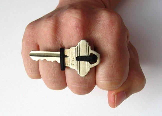 25570509 135406 KEON V1..แหวนที่เก็บกุญแจ ไม่ต้องพกกระเป๋า