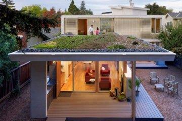 บ้านที่เปิดโล่งเชื่อมโยงภายในกับสวนทั้งชั้นบนและล่าง 19 - sustainable