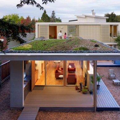 บ้านที่เปิดโล่งเชื่อมโยงภายในกับสวนทั้งชั้นบนและล่าง 16 - sustainable