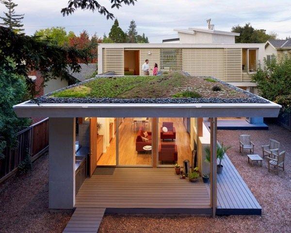 บ้านที่เปิดโล่งเชื่อมโยงภายในกับสวนทั้งชั้นบนและล่าง 17 - sustainable