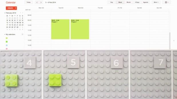 lego calendar 1380664287 Lego Calendar ปฏิทินเลโก้