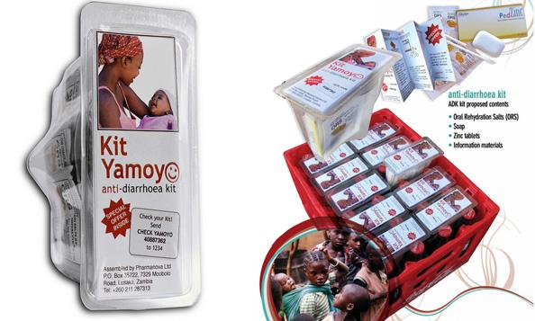 ova se proizvodite so najdobar dizajn vo izminatata godina 130578 The Anti Diarrhea Kit ชุดปฐมพยาบาล แก้อาการท้องร่วง