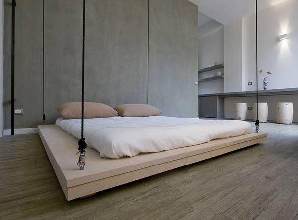 20140604 204919 74959753 เตียงประหยัดพื้นที่..เลื่อนเก็บบนเพดานเมื่อไม่ใช้