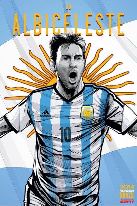 20140615 205237 75157128 โปสเตอร์บอลโลก 2014 World Cup ..สวยแรง..36แบบ 36ทีม