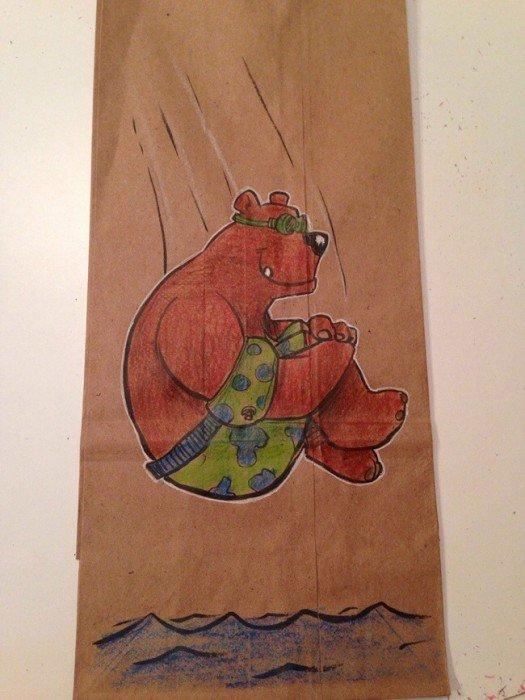 20140620 201920 73160097 ยอดคุณพ่อนักวาด.. วาดภาพการ์ตูนบนถุงอาหารกลางวันของลูกชายทุกวันตลอด2ปี