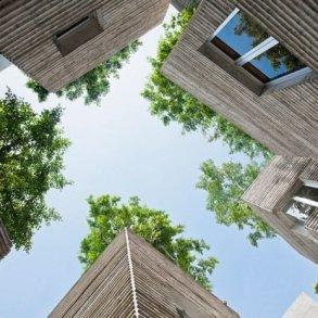 บ้านที่เหมือนกระถางต้นไม้..บ้านรางวัลชนะเลิศ AR House 2014 16 - courtyard