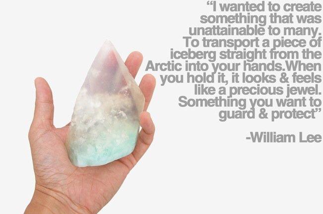 20140628 110733 40053869 สบู่ทำมือ ได้แรงบันดาลใจจากภูเขาน้ำแข็งที่กำลังละลายเพราะภาวะโลกร้อน