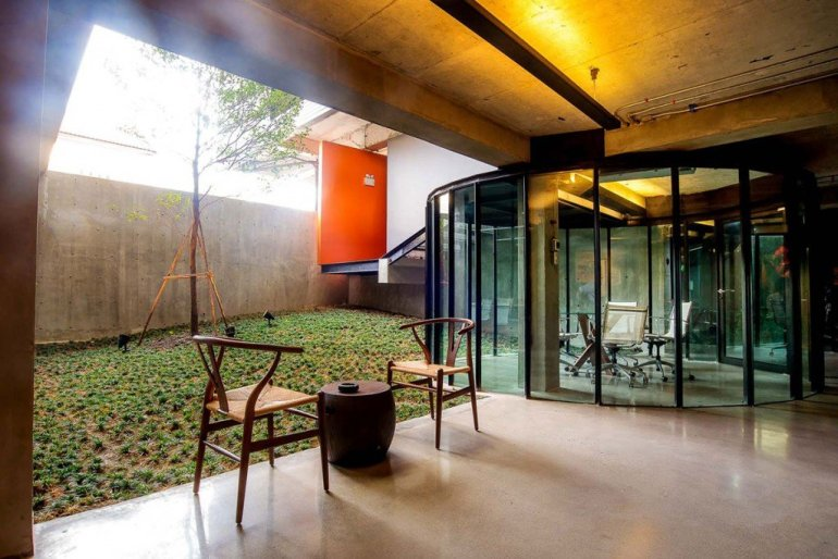 5 ออฟฟิศไทย ไอเดียออกแบบสุดครีเอทีฟแห่งปี 2014 40 - Architecture