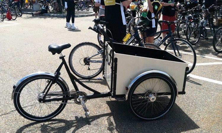 out of place cargo bike Cargo Bike Wave ช่วยลดปริมาณรถยนต์และรถบรรทุกบนท้องถนน