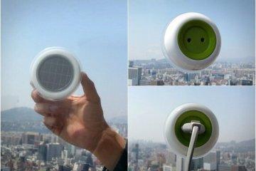 เปลี่ยนหน้าต่างเป็นแหล่งผลิตพลังงานด้วย SOLAR POWERED WINDOW SOCKET