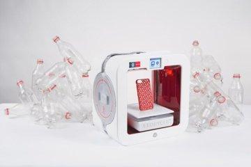 Coke และ Will.i.am ร่วมกันสร้างเครื่องพิมพ์ 3มิติ ใช้ขวดพลาสติกใช้แล้วเป็นวัตถุดิบในการพิมพ์ 2 - COKE