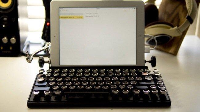 USB keyboard ที่จะทำให้การพิมพ์คอมพิวเตอร์ หรือแท็ปเล็ต ได้อารมณ์แบบใช้เครื่องพิมพ์ดีด 21 - gadget