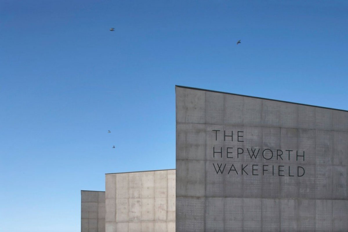 David Chipperfield Architects . Hepworth Wakefield . West Yorkshire 2 Hepworth Wakefield Gallary ดินแดงแห่งงานประติมากรรม