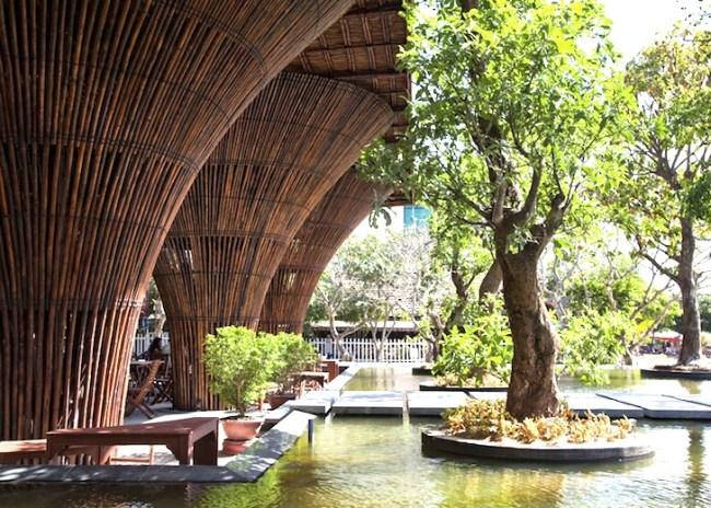 สถาปัตยกรรมจากไม้ไผ่ โดย Vo Trong Nghia Architects เป็นมิตรกับสิ่งแวดล้อม ประหยัดพลังงาน 5 - Architecture