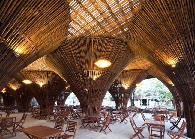 สถาปัตยกรรมจากไม้ไผ่ โดย Vo Trong Nghia Architects เป็นมิตรกับสิ่งแวดล้อม ประหยัดพลังงาน 7 - Architecture