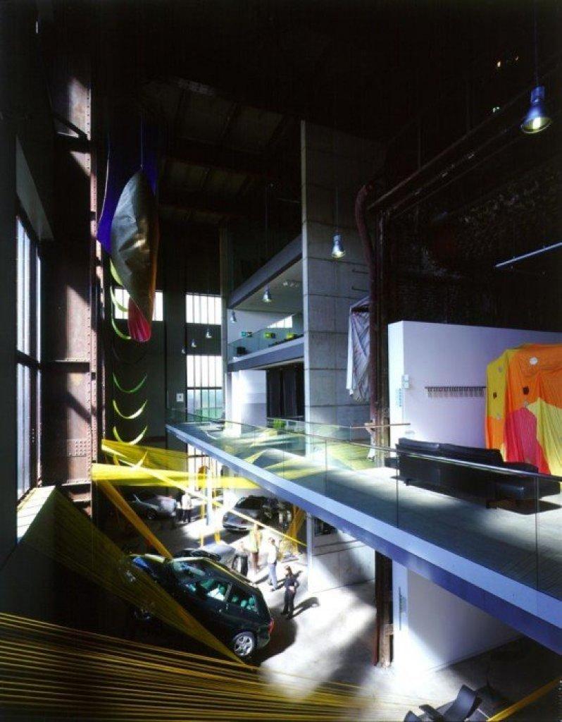 img3 Design Center ศูนย์ศิลปะบรรยากาศยุคอุตสาหกรรมหนัก