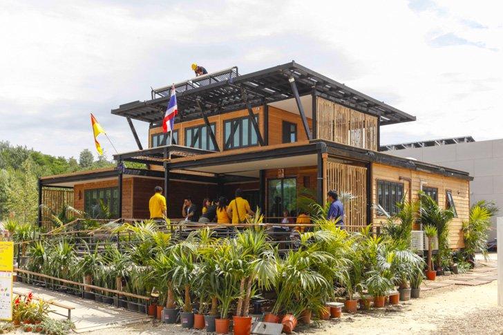 "wpid liz eve solar decathlon 2014 kmu 1 ""Baan Chaan""  บ้านประหยัดพลังงาน ผลงานนักศึกษาไทยไปแข่งระดับโลก"