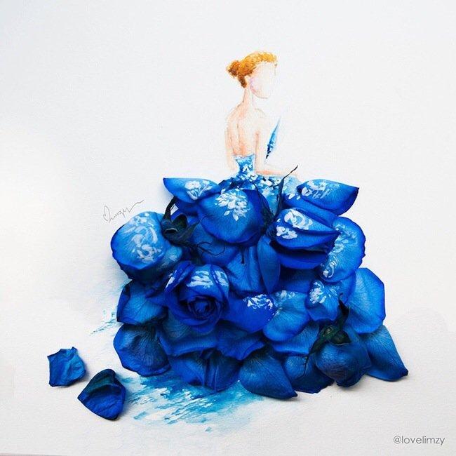 20140801 193644 70604213 เมื่อกลีบดอกไม้กลายเป็นชุดสวยชวนฝัน